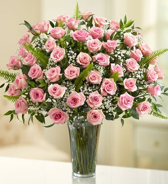 Ultimate Elegance™ Premium Long Stem Pink Roses - Pink