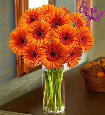 Pumpkin Patch Bouquet with Boo Pick