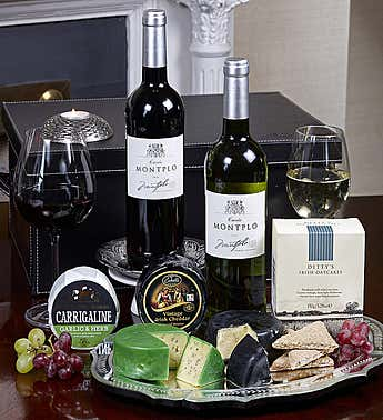 Wine, Cheese & Crackers Gift Set