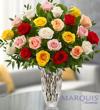 Marquis by Waterford® Premium Assorted Roses