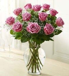 Rose Elegance™ Premium Long Stem Roses - Purple