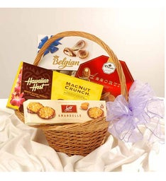 Assorted Chocolates Basket
