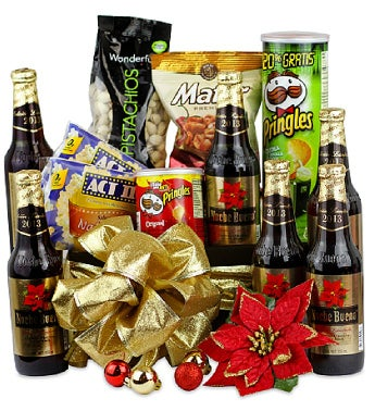 Christmas Beer Snack Mix