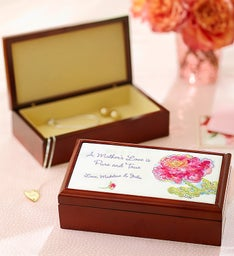 Personalized Keepsake Box for Mom or Dad