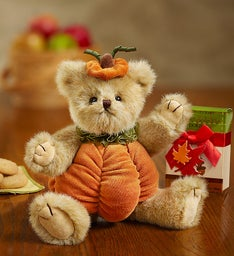Bearington® Pumpkin Bear with FREE Cookies