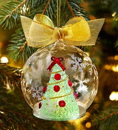 Holiday Flower Tree Ornament by Lenox®