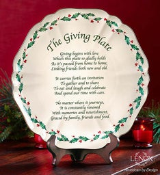 Lenox® Holiday Giving Plate