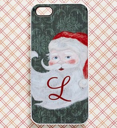 Personalized Holiday iPhone Case