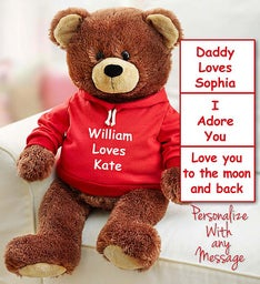 Personalized Gund® Bear for Love and Cookies