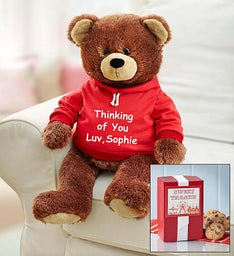 Personalized Gund® Bear with Cookies