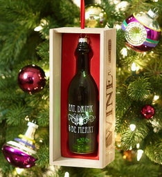 Eat, Drink & Be Merry Ornament
