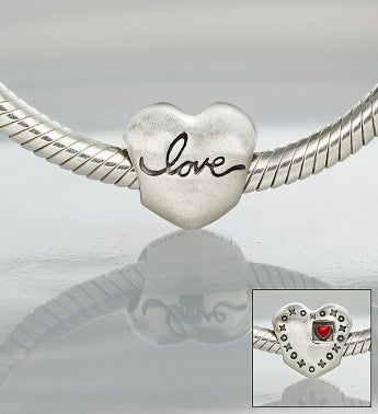 Chamilia® Bracelet with Love Charm