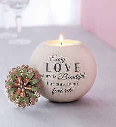 Romantic Love Story Candle