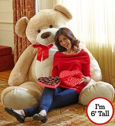 Beary Big Bear with FREE CHOCOLATE