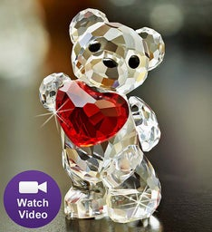 "SWAROVSKI® ""A Heart For You"" Bear Collectible"