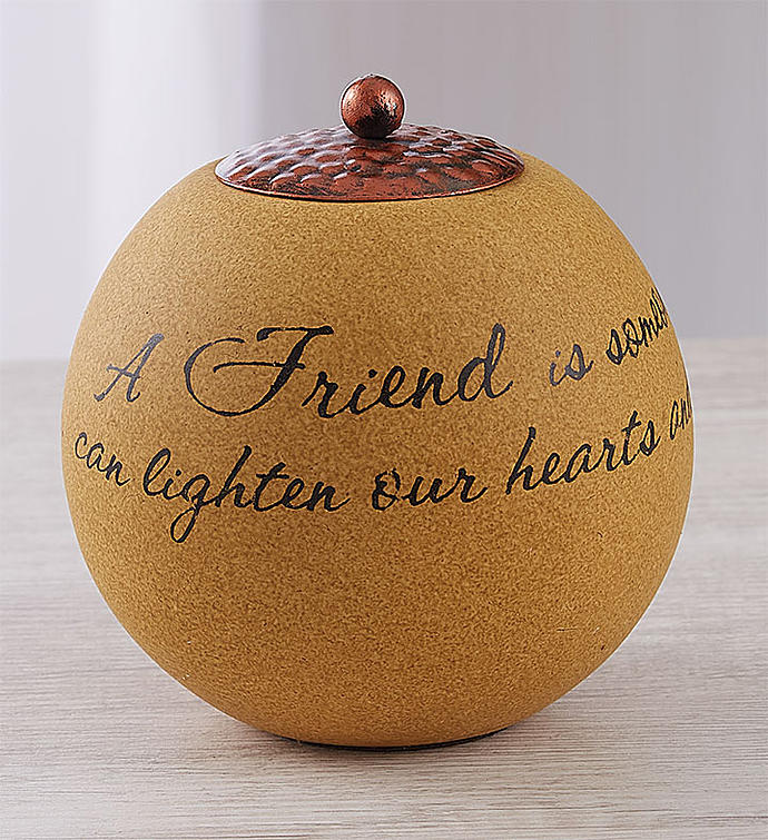 Friendship Keepsake Candle