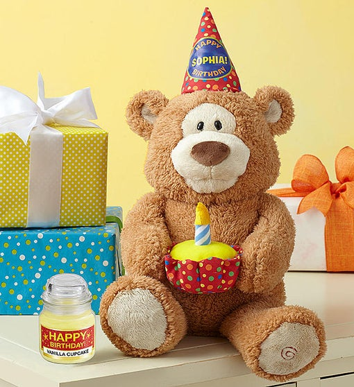 Happy Birthday Animated Bear By Gund®