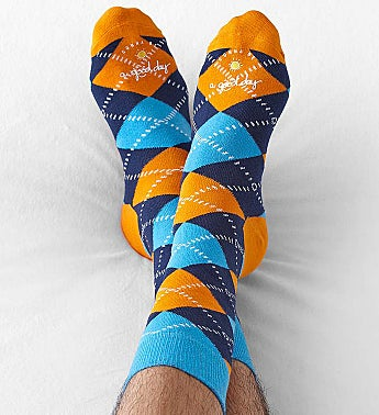 Good Day™ Argyle Socks for Men