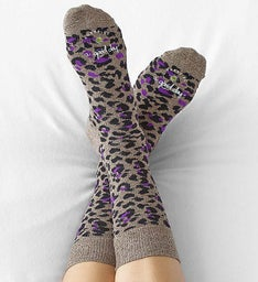 Good Day™ Leopard Socks for Women