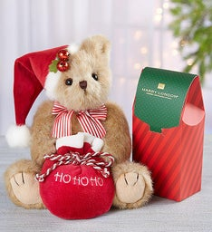 Bearington® Jolly Jingles with Chocolate