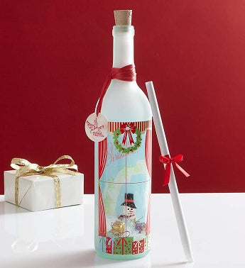 Keepsake Message in a Bottle® Christmas