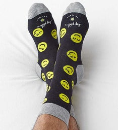 Good Day™ Smiley Socks for Men or Women