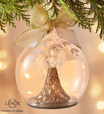 Lenox® Holiday Angel Lit Color Changing Ornament