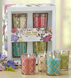 New York Botanical Garden Votive Set