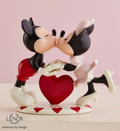 Lenox® Mickey Loves Minnie Collectible