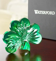 Waterford® Crystal Shamrock