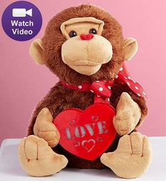 Lucky in Love Animated Monkey