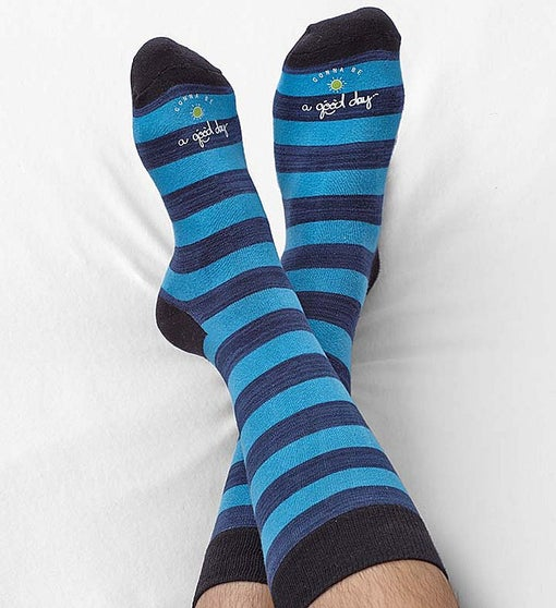 Good Day™ Striped Socks for Men