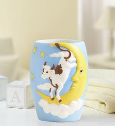 Over the Moon Baby Night Lamp and Bank