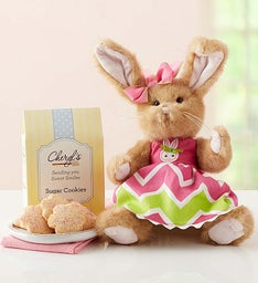 Bearington® Spring Bunny with Cookies