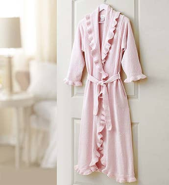 Ruffle Robe for Mom