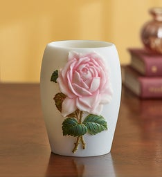 Cottage Rose Lamp