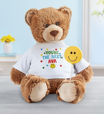 Personalized Tommy Teddy Sending Smiles
