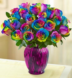 Kaleidoscope Roses, 12-24 Stems