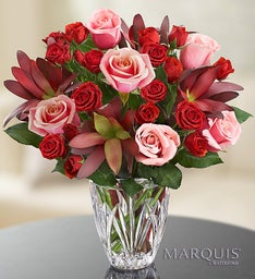 Elegance Bouquet in Marquis by Waterford® Vase