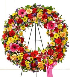 Ray of Colors Wreath