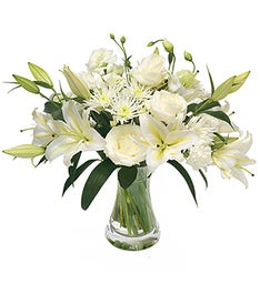Florist Design - A Bouquet in White