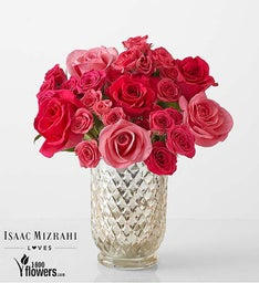 Charming - Pink Rose Bouquet By Isaac Mizrahi