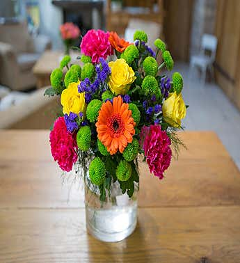 Color Burst Bouquet