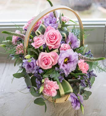 Vintage Chic Sympathy Arrangement