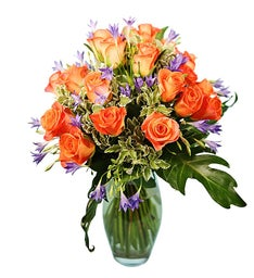 Premium Bouquet of Orange Roses