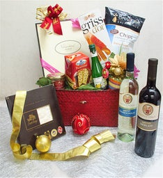 Wonderful Christmas Gift Basket