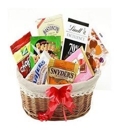 Sweet Rainbow Gift Basket
