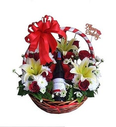 Christmas Bash Gift Basket