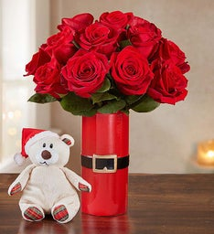 Merry Red Roses, 12-24 Stems