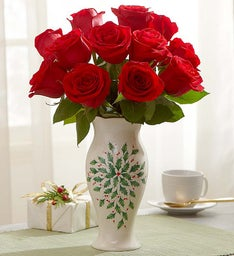 Lenox® Holiday Vase Arrangement